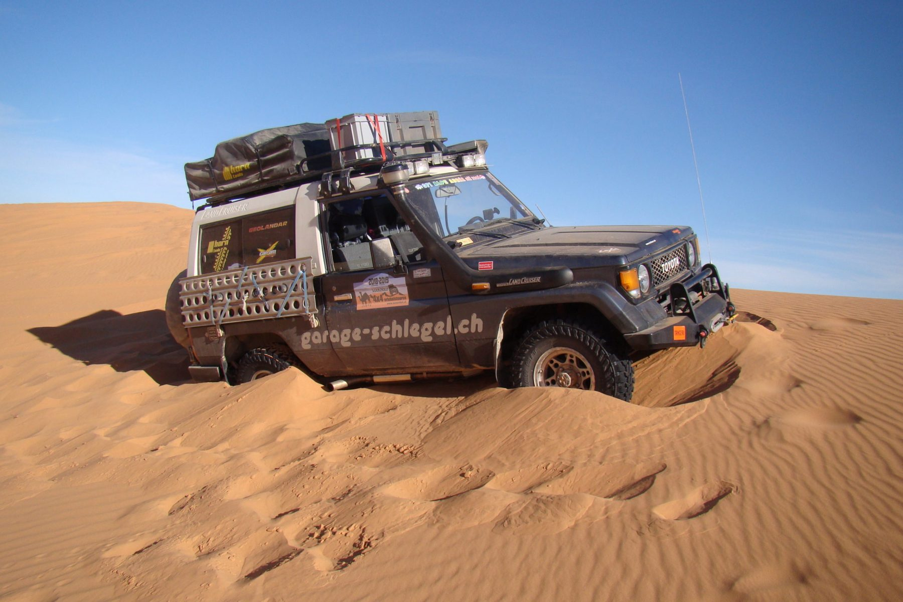 Off-Tech Toyota Land Cruiser LJ73 Umbau