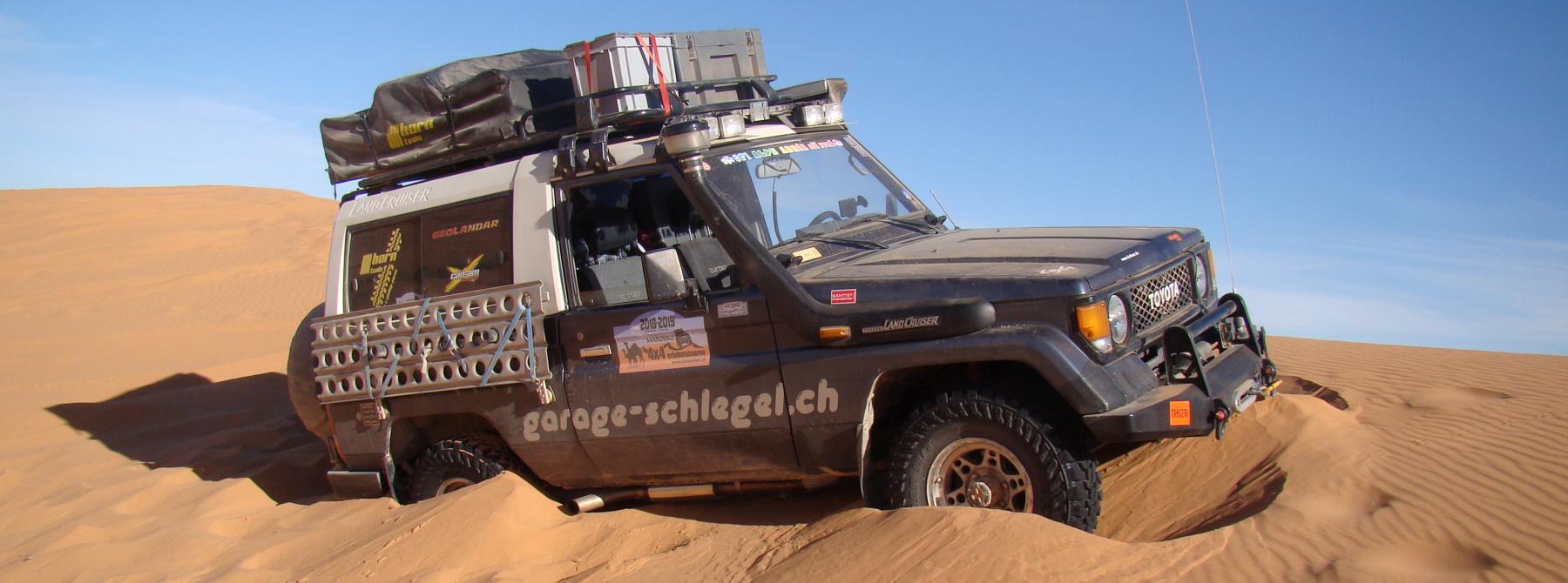 Off-Tech bietet Fahrzeugumbauten für alle Arten von Reisen